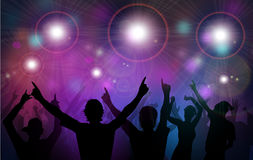 Night Club Party-Vector Royalty Free Stock Images
