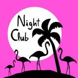 Night club symbol Royalty Free Stock Photo