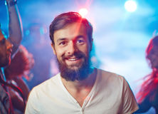 Night clubber Stock Image