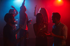 Night clubbing Stock Photography
