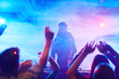 Night clubbing royalty free stock images