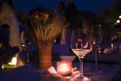 Night cocktail. A night cocktail at a resort Stock Photo