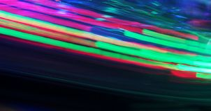 Night colors of the amusement park Stock Photography