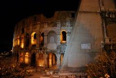 Night Colosseum, Rome Stock Photo