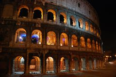 Night Colosseum, Rome Royalty Free Stock Image