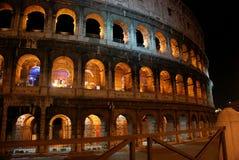 Night Colosseum, Rome Stock Photos