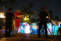 Free Night Concert 2 Royalty Free Stock Photos - 3231638
