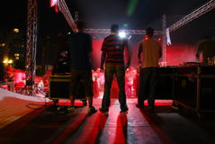 Night concert Royalty Free Stock Photography