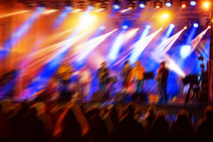 Night concert Royalty Free Stock Images
