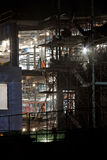 Night Construction Stock Photos