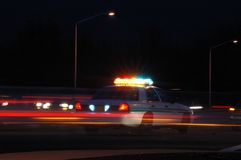Night Cop Royalty Free Stock Photography