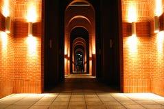 Night corridor Royalty Free Stock Photos