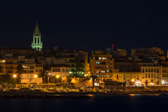 At night in the Costa Brava,(Spain) Royalty Free Stock Photography