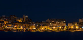 At night in the Costa Brava,Spain) Stock Image