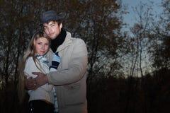 Night couple Royalty Free Stock Image