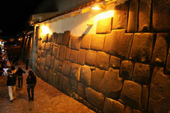 Night in cuzco Royalty Free Stock Image