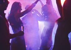 Night dancing Stock Image