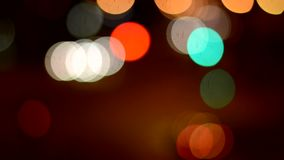 Night defocused Stock Photos