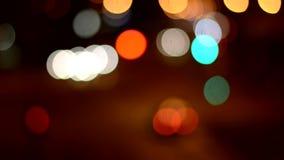 Night defocused Stock Photos