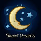 Night design Royalty Free Stock Photography