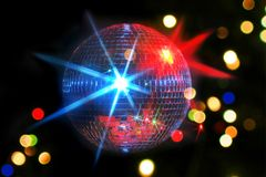 A night at the disco Royalty Free Stock Image