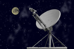 Night Dish Stock Photography