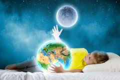 Night dreaming Stock Photography