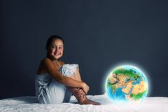 Night dreaming Stock Images