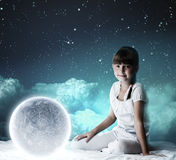 Night dreaming Royalty Free Stock Photos