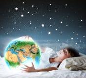 Night dreaming Stock Photos
