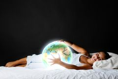 Night dreaming Royalty Free Stock Images