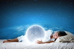 Night dreaming Stock Photos