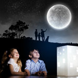 Night dreaming Stock Image