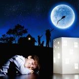 Night dreaming Royalty Free Stock Photos