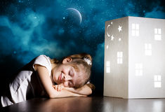 Night dreaming Royalty Free Stock Photography