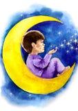 Night dreams Stock Photo