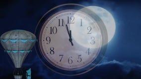 Night dreams stock video footage