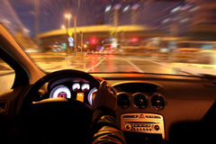 Night drive Stock Image