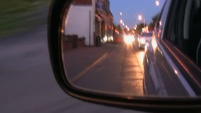 Night drive stock footage