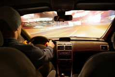 Night drive Royalty Free Stock Images