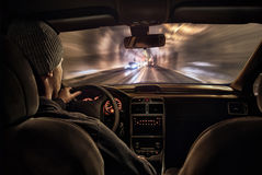 Night drive Stock Photography