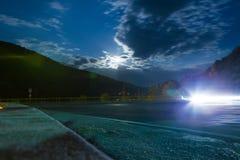 Night drive Stock Photography