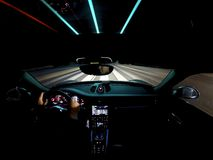 Night Drive Royalty Free Stock Photography