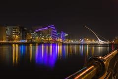 Night Dublin Stock Photography