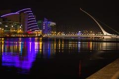 Night Dublin two Stock Photo