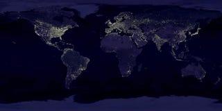 Night Earth stock illustration