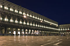 Night exposure of Piazza San Marco, Venice, Stock Images