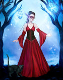 Night Fairies. Digital artwork for your projects and/or artistic creations royalty free illustration