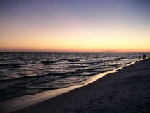 Free Night Falls On The Beaches Of Florida Royalty Free Stock Photography - 138594807