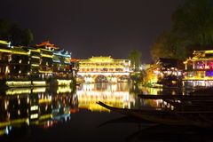 Night Fenghuang Royalty Free Stock Images